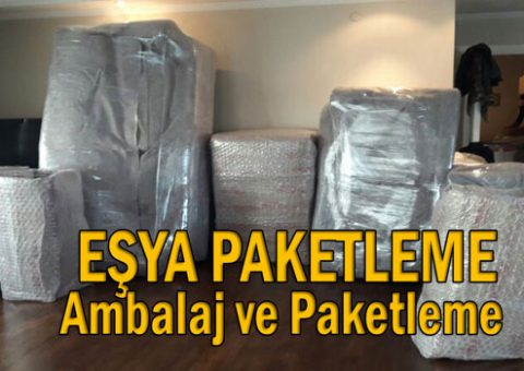 Eşya Paketleme - ambalaj ve paketleme hizmeti istanbul