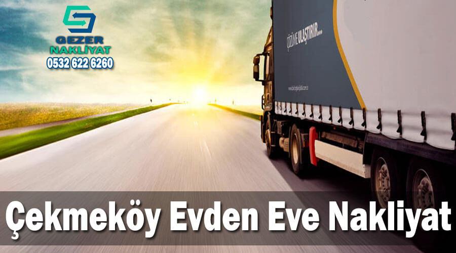 Çekmeköy evden eve nakliyat İstanbul Çekmeköy Nakliyat Şirketi