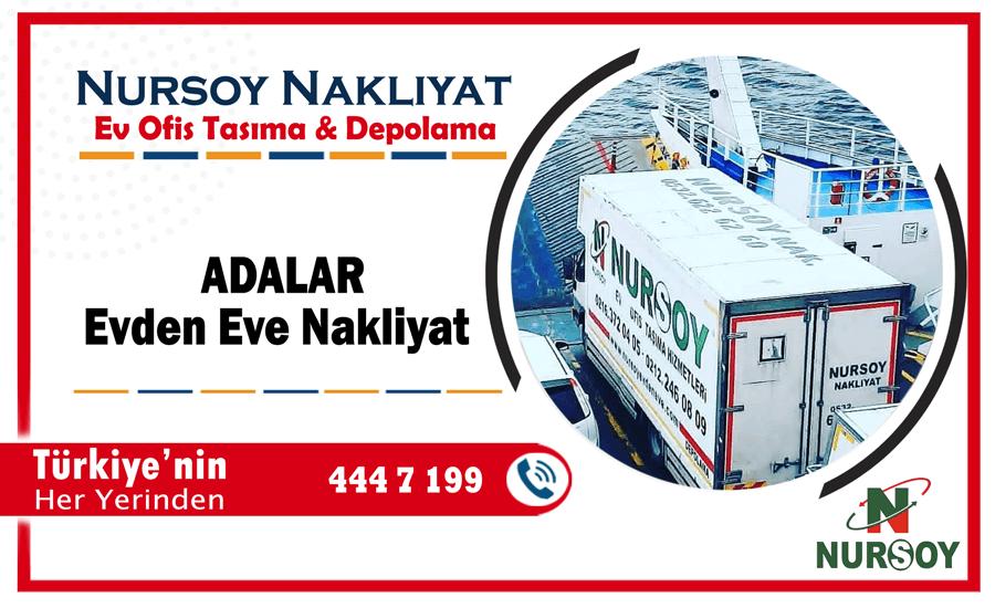 Adalar evden eve nakliyat İstanbul adalar nakliyat firmaları