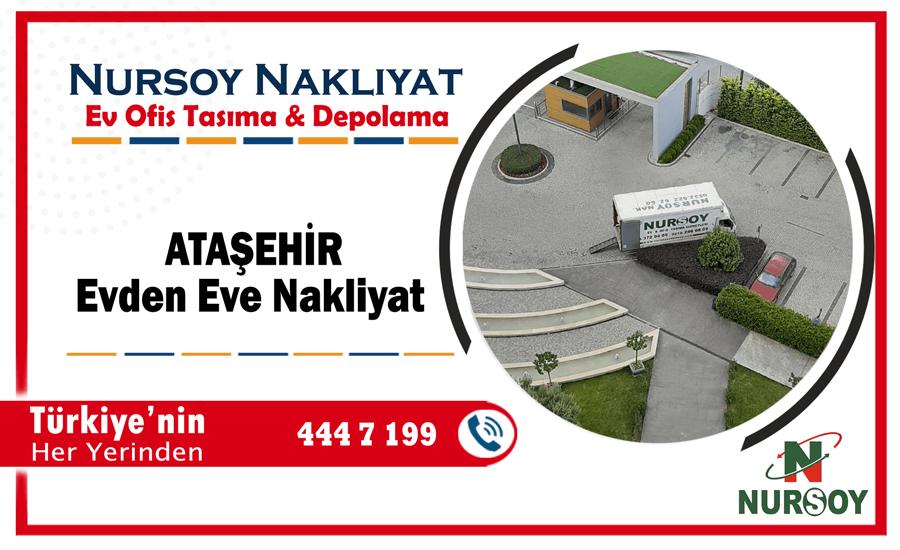 Ataşehir evden eve nakliyat İstanbul ataşehir nakliyat şirketi