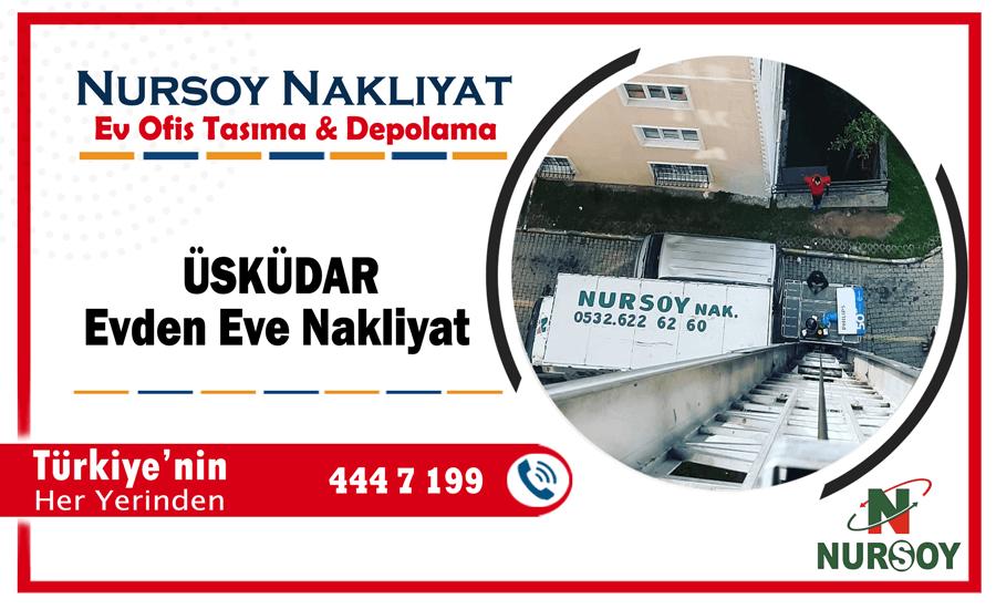 Üsküdar evden eve nakliyat İstanbul üsküdar nakliyat şirketi