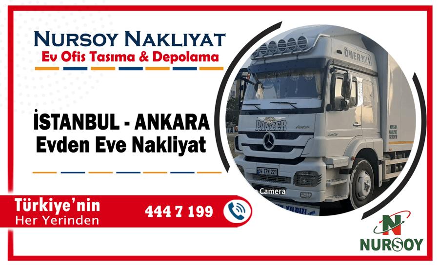 İstanbul Ankara nakliyat İstanbul ankara evden eve nakliyat fiyatları
