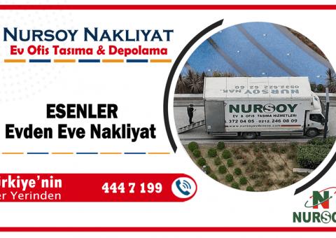 Esenler evden eve nakliyat İstanbul esenler nakliyat firmaları
