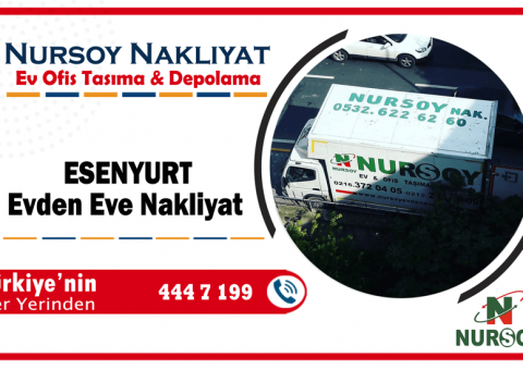 Esenyurt evden eve nakliyat İstanbul esenyurt nakliye şirket taşımacılık hizmeti