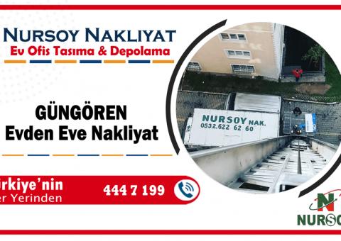 Güngören evden eve nakliyat İstanbul güngören nakliyat firmaları